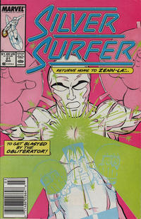 Cover Thumbnail for Silver Surfer (Marvel, 1987 series) #21 [Newsstand]