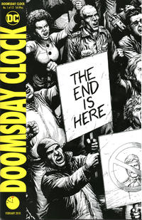 Gcd Issue Doomsday Clock 1 Second Printing