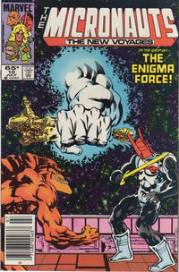 Cover Thumbnail for Micronauts (Marvel, 1984 series) #10 [Newsstand]