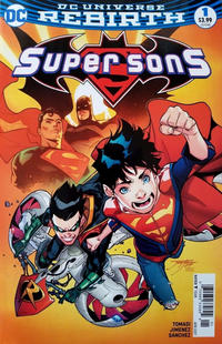 Cover for Super Sons (DC, 2017 series) #1