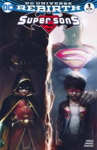 Cover Thumbnail for Super Sons (DC, 2017 series) #1 [Francesco Mattina Color Variant]