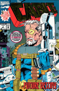 Cover Thumbnail for Cable (Marvel, 1993 series) #1 [Newsstand]