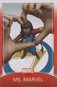 Cover Thumbnail for Ms. Marvel (Marvel, 2016 series) #25 [John Tyler Christopher Trading Card Cover]