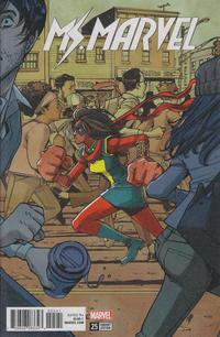 Cover Thumbnail for Ms. Marvel (Marvel, 2016 series) #25 [Takeshi Miyazawa Cover]