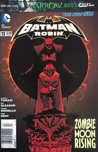 Cover Thumbnail for Batman and Robin (DC, 2011 series) #13 [Newsstand]