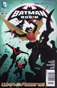 Cover Thumbnail for Batman and Robin (DC, 2011 series) #10 [Newsstand]