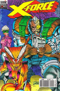Cover Thumbnail for X-Force (Semic S.A., 1992 series) #1