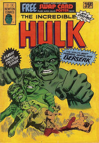 Cover Thumbnail for The Incredible Hulk (Newton Comics, 1974 series) #8