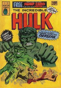 Cover Thumbnail for The Incredible Hulk (Newton Comics, 1974 series) #8