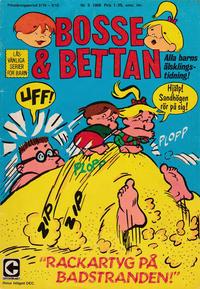 Cover Thumbnail for Bosse och Bettan (Centerförlaget, 1963 series) #5/1968
