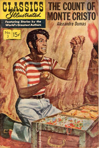 Cover Thumbnail for Classics Illustrated (Gilberton, 1947 series) #3 [HRN 167] - The Count of Monte Cristo