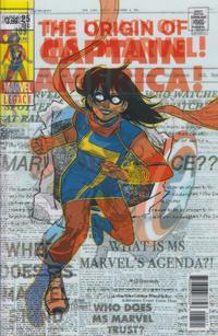 Cover Thumbnail for Ms. Marvel (Marvel, 2016 series) #25 [Jacob Wyatt Lenticular Homage Cover]
