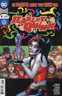 Cover Thumbnail for Harley Quinn Be Careful What You Wish for (DC, 2018 series) #1