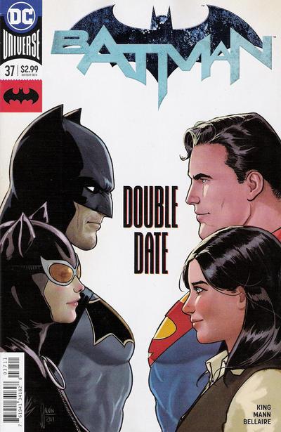 Cover for Batman (DC, 2016 series) #37