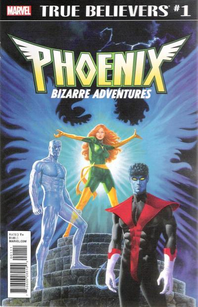 Cover for True Believers: Phoenix  - Bizarre Adventures (Marvel, 2018 series) #1