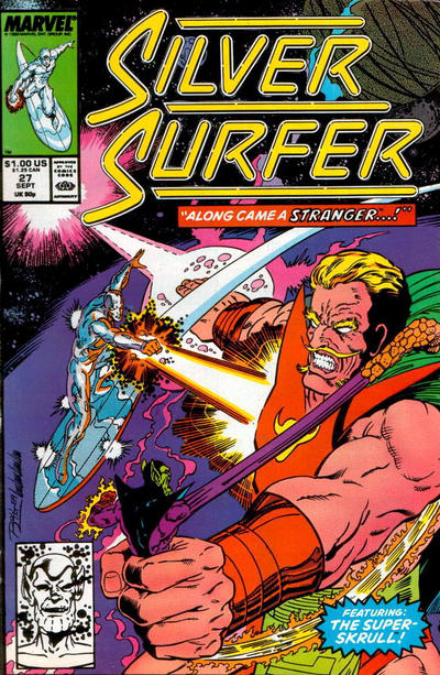 Cover for Silver Surfer (Marvel, 1987 series) #27 [Direct]