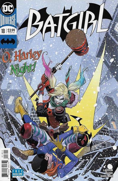 Cover for Batgirl (DC, 2016 series) #18 [Dan Mora Cover]