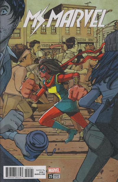 Cover for Ms. Marvel (Marvel, 2016 series) #25