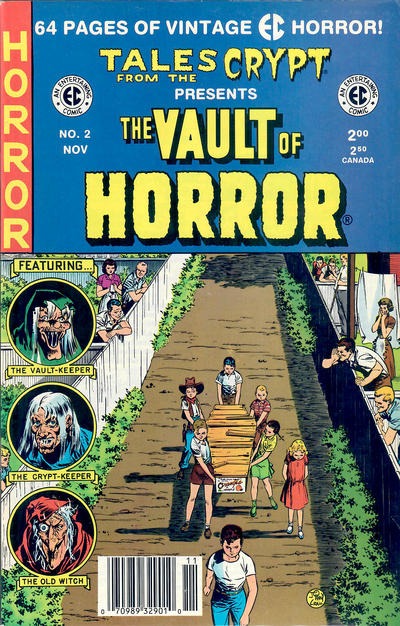 Cover for Vault of Horror (Russ Cochran, 1991 series) #2