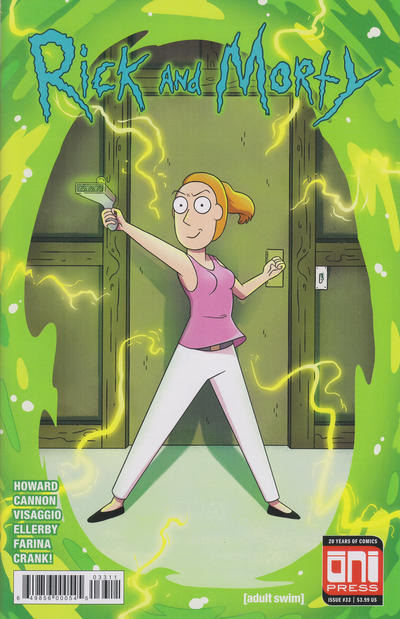 Cover for Rick and Morty (Oni Press, 2015 series) #33 [Cover A - CJ Cannon]