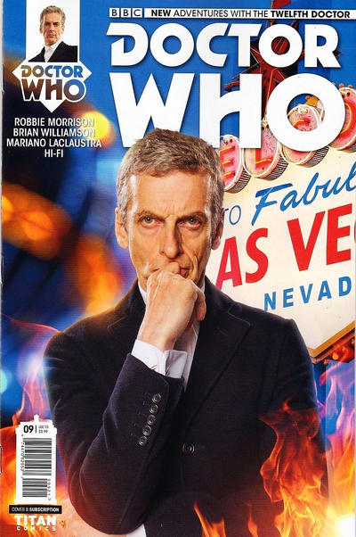Cover for Doctor Who: The Twelfth Doctor (Titan, 2014 series) #9 [Regular Cover]