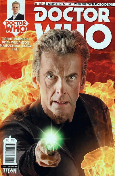 Cover for Doctor Who: The Twelfth Doctor (Titan, 2014 series) #10 [Regular Cover]