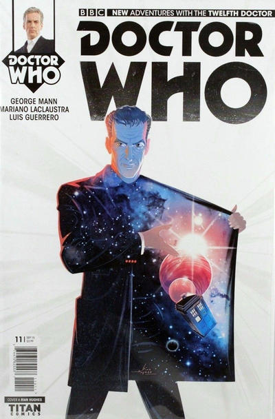 Cover for Doctor Who: The Twelfth Doctor (Titan, 2014 series) #11