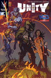 Cover for Unity (Valiant Entertainment, 2013 series) #1 [Cover S - NC Comicon - Bernard Chang]
