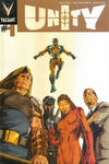Cover for Unity (Valiant Entertainment, 2013 series) #1 [Gold Logo Variant]
