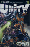 Cover for Unity (Valiant Entertainment, 2013 series) #8 [Cover B - Chromium Cover]