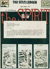 Cover for The Spirit (Register and Tribune Syndicate, 1940 series) #3/13/1949