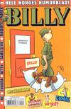 Cover for Billy (Hjemmet / Egmont, 1998 series) #2/2018
