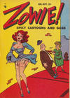 Cover for Zowie! (Youthful, 1952 series) #v1#4