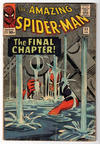 Cover for The Amazing Spider-Man (Marvel, 1963 series) #33 [British]