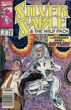 Cover for Silver Sable and the Wild Pack (Marvel, 1992 series) #2 [Newsstand]