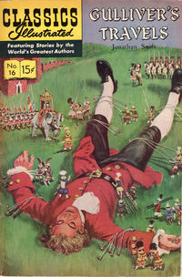 Cover Thumbnail for Classics Illustrated (Gilberton, 1947 series) #16 [HRN 167] - Gulliver's Travels [Painted Cover]