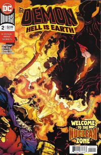 Cover Thumbnail for The Demon: Hell Is Earth (DC, 2018 series) #2