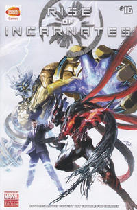 Cover Thumbnail for Rise of Incarnates (Marvel, 2014 series) #16