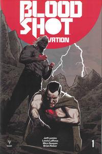 Cover Thumbnail for Bloodshot Salvation (Valiant Entertainment, 2017 series) #1 [Cover E - Greg Smallwood]