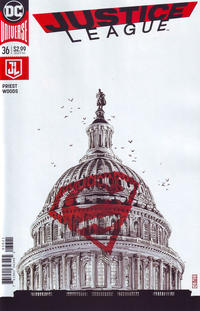 Cover Thumbnail for Justice League (DC, 2016 series) #36 [J. G. Jones Cover]