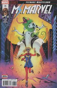 Cover for Ms. Marvel (Marvel, 2016 series) #26