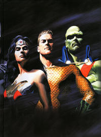 Cover Thumbnail for Absolute Justice League: The World's Greatest Superheroes by Alex Ross and Paul Dini (DC, 2017 series)