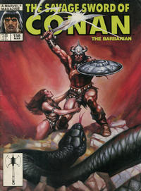 Cover Thumbnail for The Savage Sword of Conan (Marvel, 1974 series) #158 [Direct]