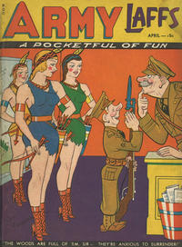 Cover Thumbnail for Army Laffs (Prize, 1941 series) #v1#2