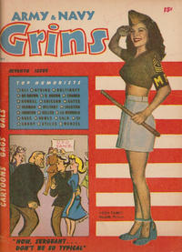 Cover Thumbnail for Army & Navy Grins (Harvey, 1944 series) #7