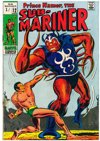 Cover Thumbnail for Sub-Mariner (Marvel, 1968 series) #12 [British]