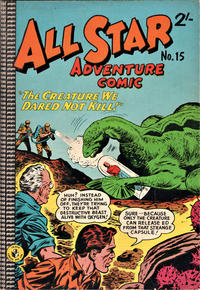 Cover Thumbnail for All Star Adventure Comic (K. G. Murray, 1959 series) #15