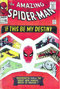 Cover Thumbnail for The Amazing Spider-Man (Marvel, 1963 series) #31 [British]