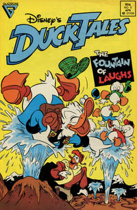 Cover Thumbnail for Disney's DuckTales (Gladstone, 1988 series) #5 [Newsstand]