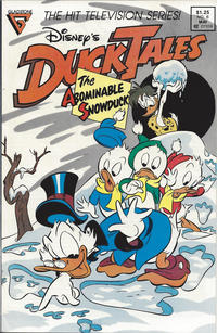 Cover Thumbnail for Disney's DuckTales (Gladstone, 1988 series) #6 [Newsstand]